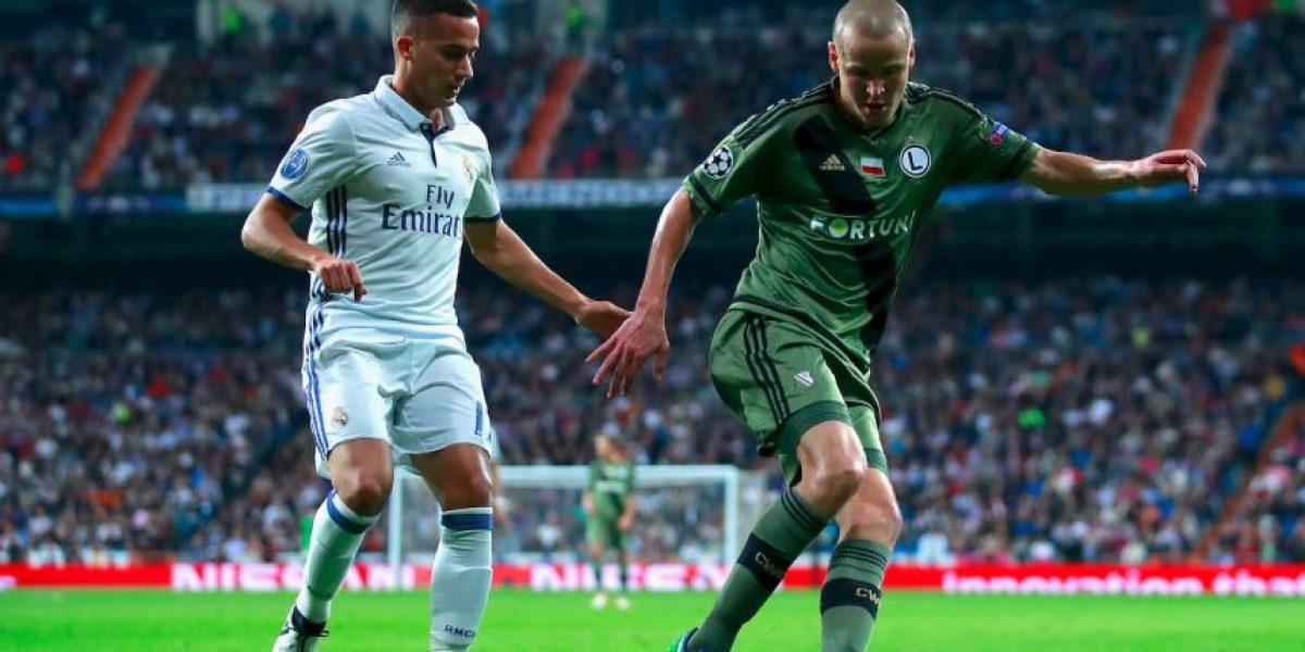 ¿A qué hora juega Legia vs. Real Madrid en Champions?