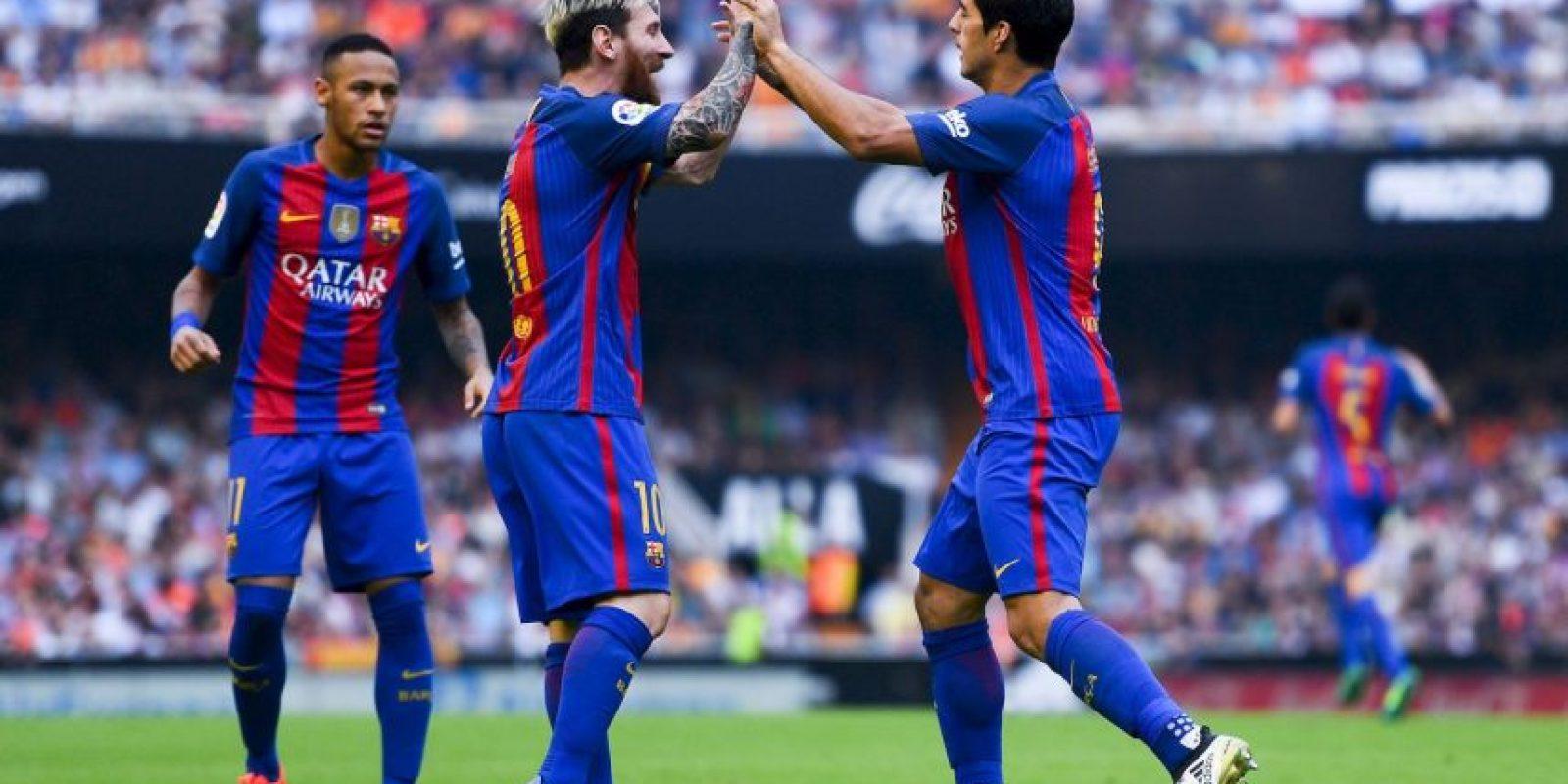 Luis Suárez tampoco tiene lo trigos más limpios. Foto:Getty Images