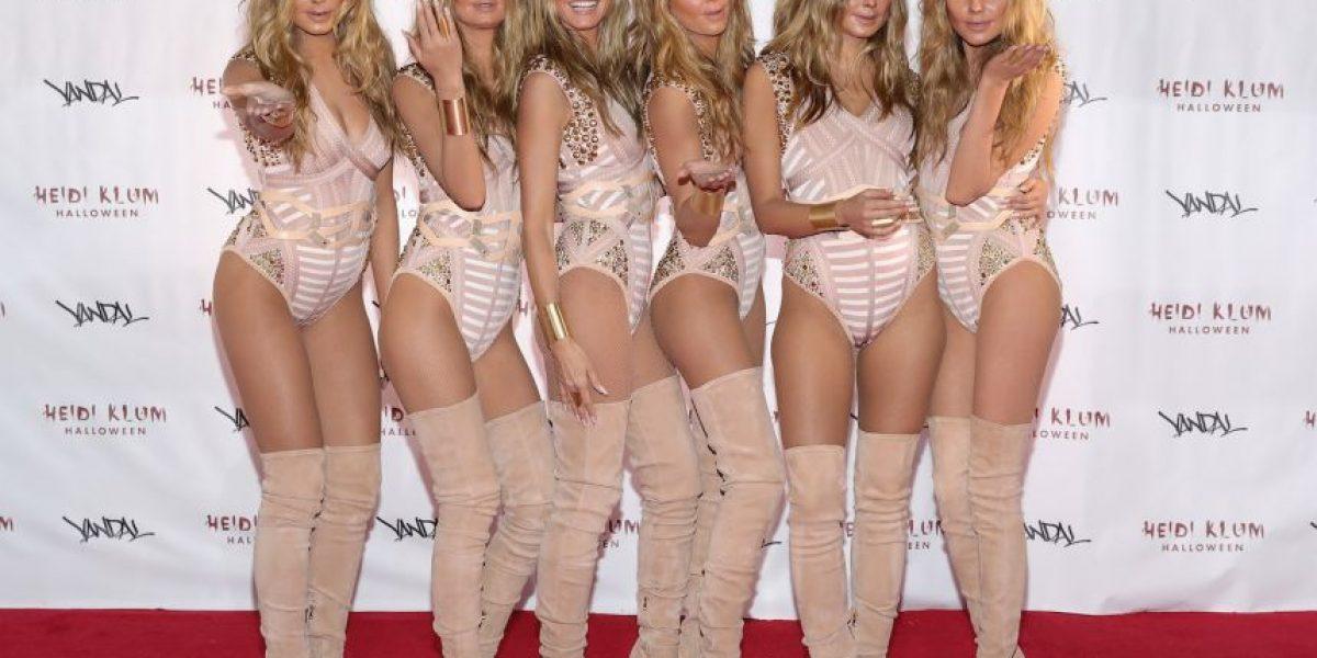 Fotos: Ellas fueron las cinco modelos que clonaron a Heidi Klum