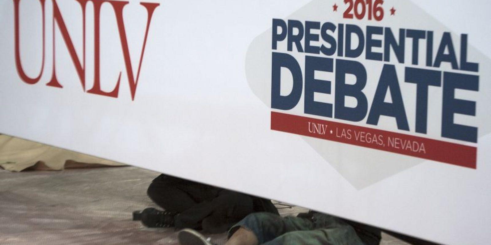 Ambos candidatos debatirán seis temas durante 90 minutos Foto:AFP