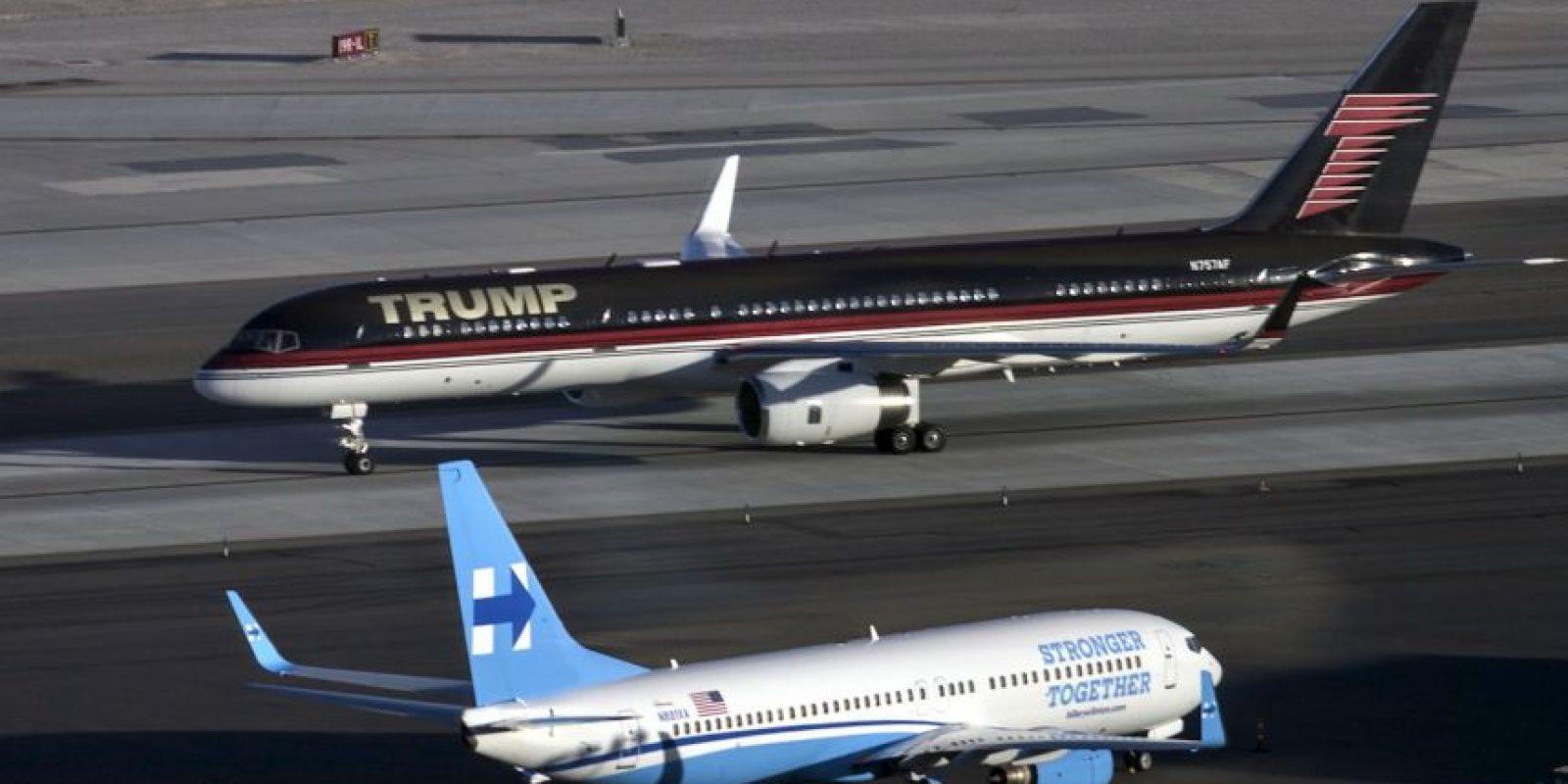 Ambos candidatos ya se encuentran en Las Vegas, Nevada, sede del último debate presidencial Foto:AFP