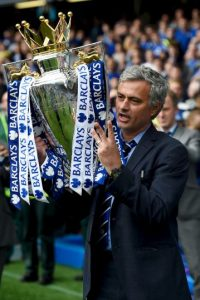 6.-Jose Mourinho (23 títulos): El actual técnico de Manchester United ha sido un ganador donde ha ido. Suma títulos en Porto, Chelsea, Inter de Milán, Real Madrid y Manchester United, donde destacan dos Champions League. Foto: Getty Images