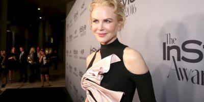 Y el resultado fue una Nicole mucho más jovnn Foto:Getty Images
