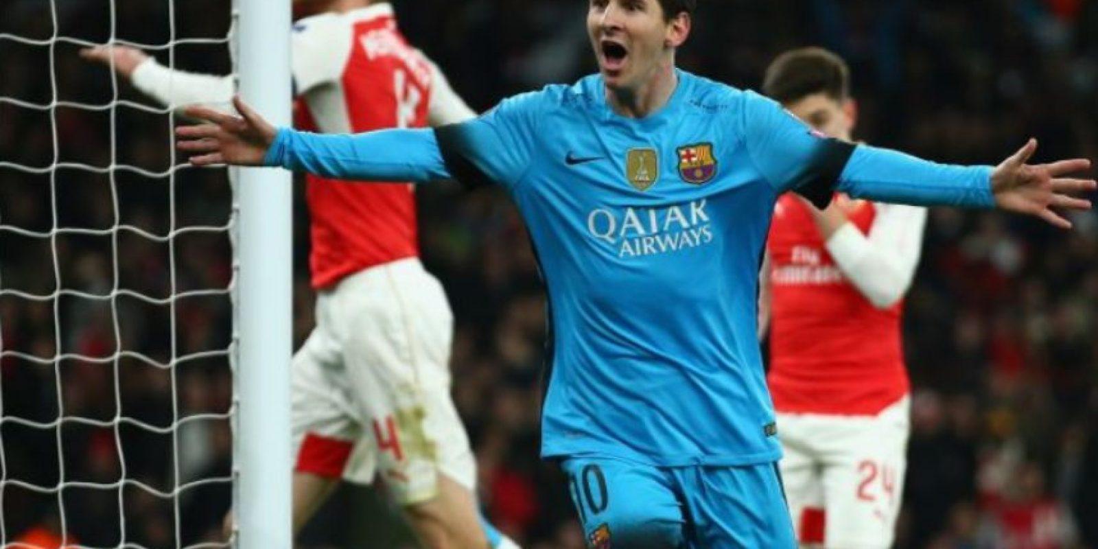 Lionel Messi – Milanesas napolitanas Foto:Getty Images