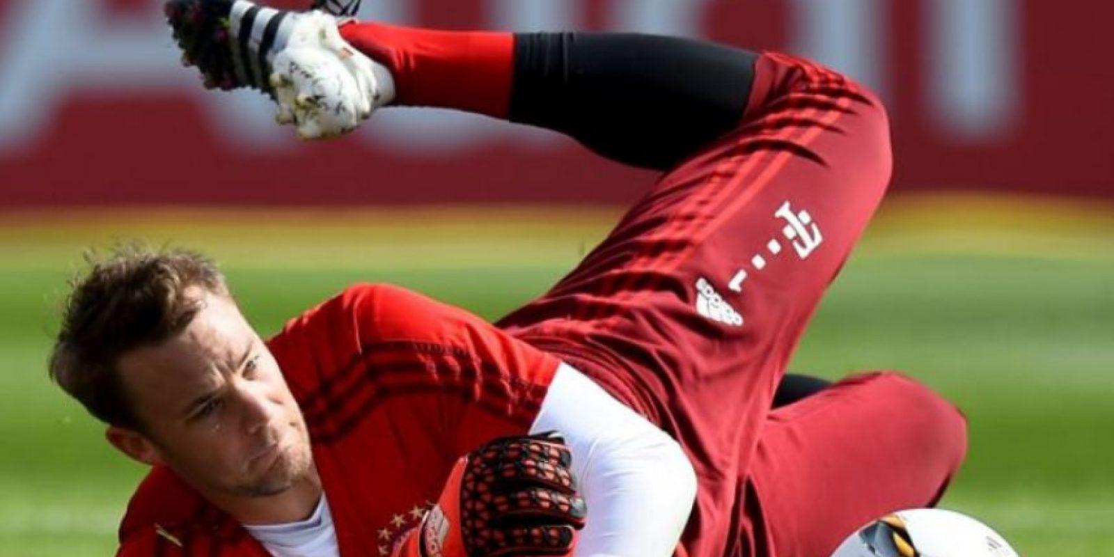Manuel Neuer – Comida italiana Foto:Getty Images