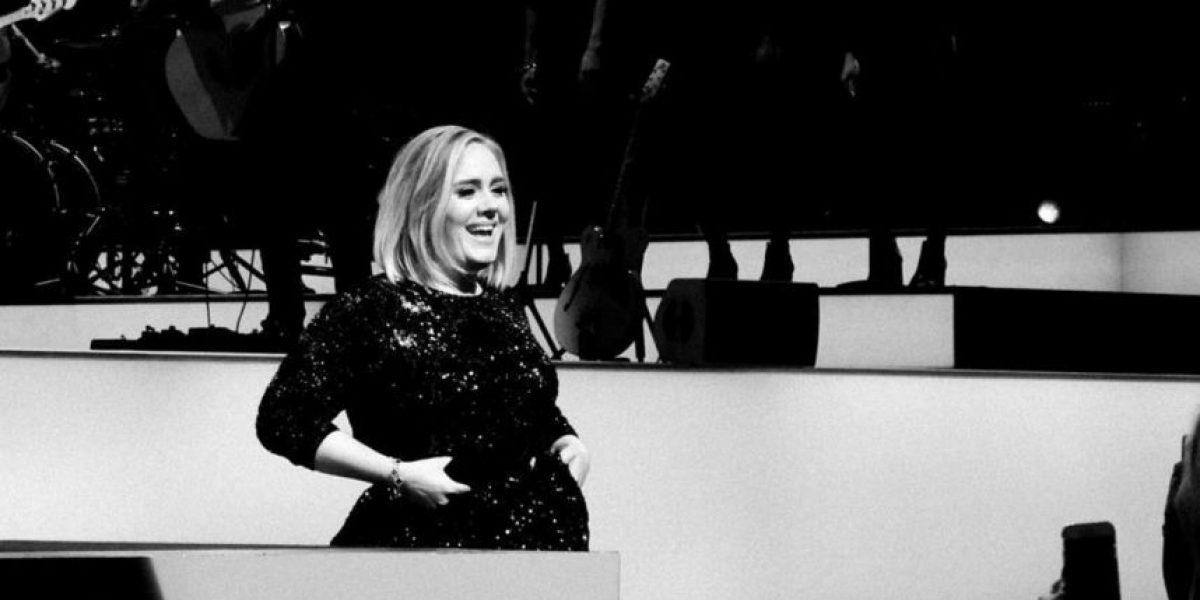 Adele se disfrazó de