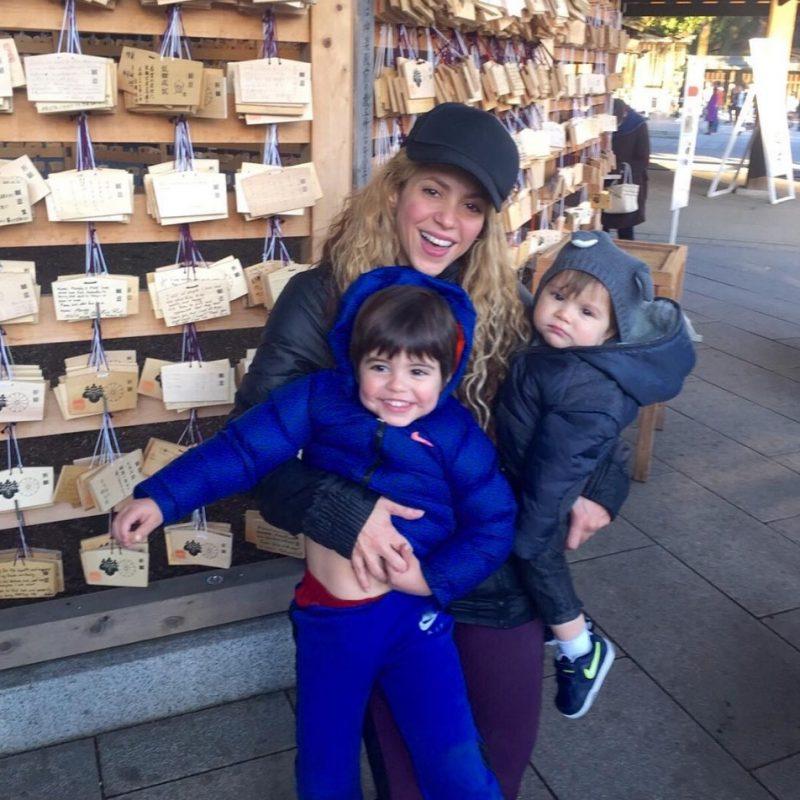 Aseguran que el hijo menor de Shakira es quien permanece hospitalizado. Imagen Por: Vía instagram.com/shakira