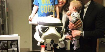 Es producto de su matrimonio con la actriz argentina Luisana Lopilato Foto:Facebook.com/MichaelBublé