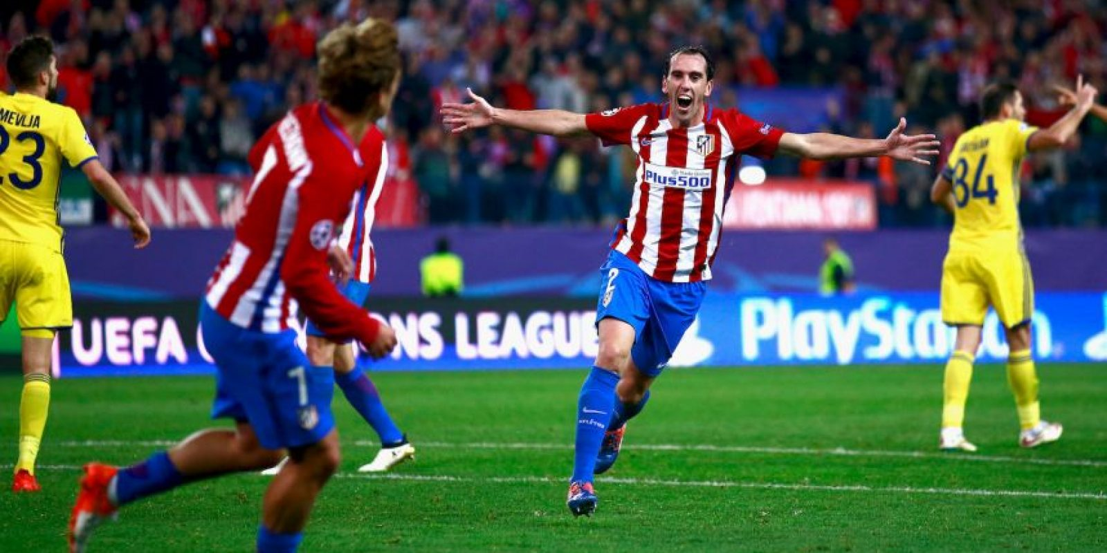 Diego Godín (Atlético de Madrid Foto: Getty Images