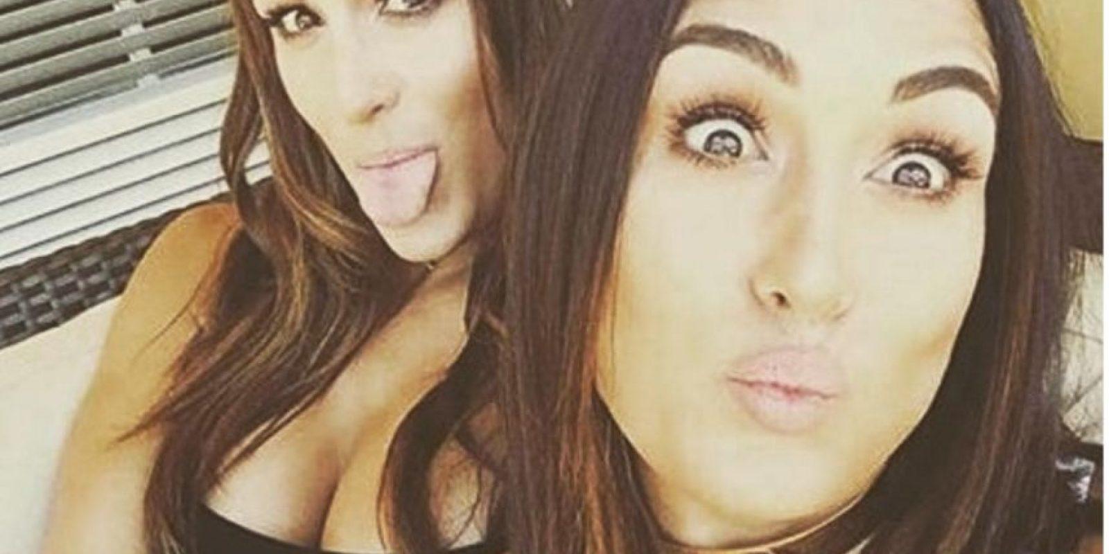 Miren las mejores imágenes de las redes sociales de The Bella Twins Foto:Instagram