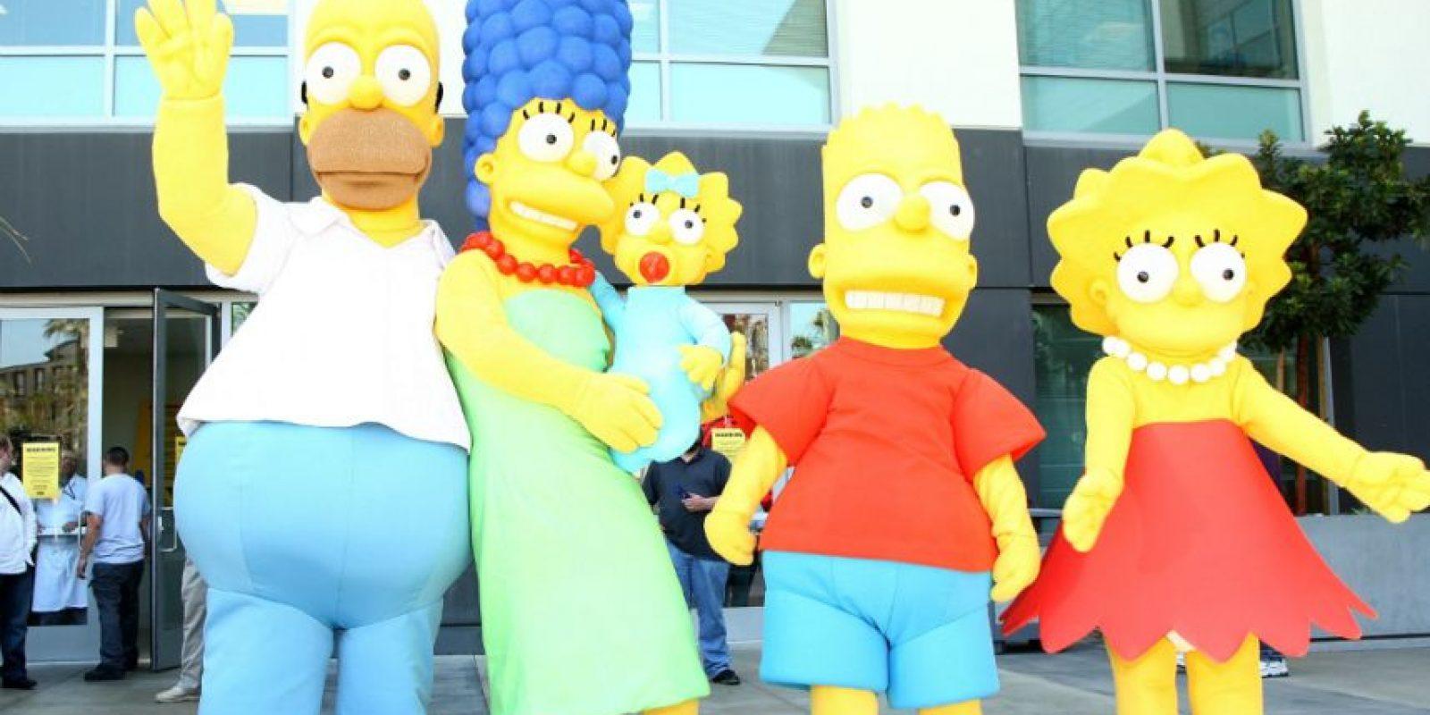En 1997, la serie superó a Los Picapiedra como la serie animada de más larga duración en horario estelar en Estados Unidos. Foto:Getty Images