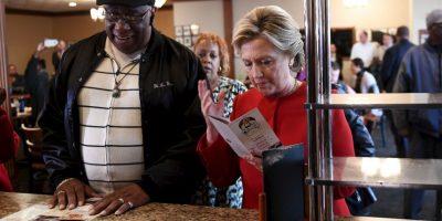 ¿Qué hicieron hoy los candidatos a la presidencia de Estados Unidos? Foto:AFP