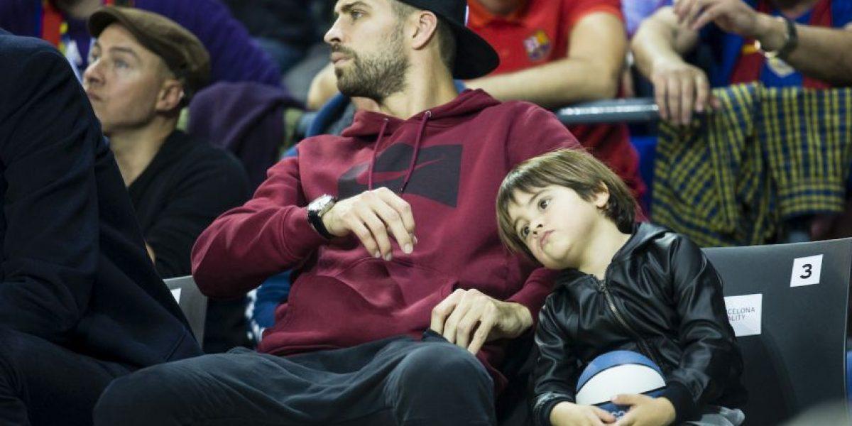 Fotos: Reaparece hijo de Shakira después de ser hospitalizado