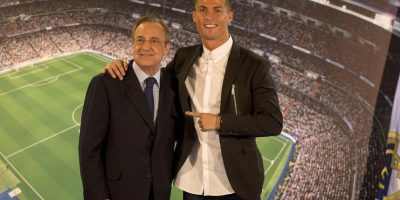 Cristiano Ronaldo extendió su vínculo con Real Madrid hasta 2021 Foto: Getty Images