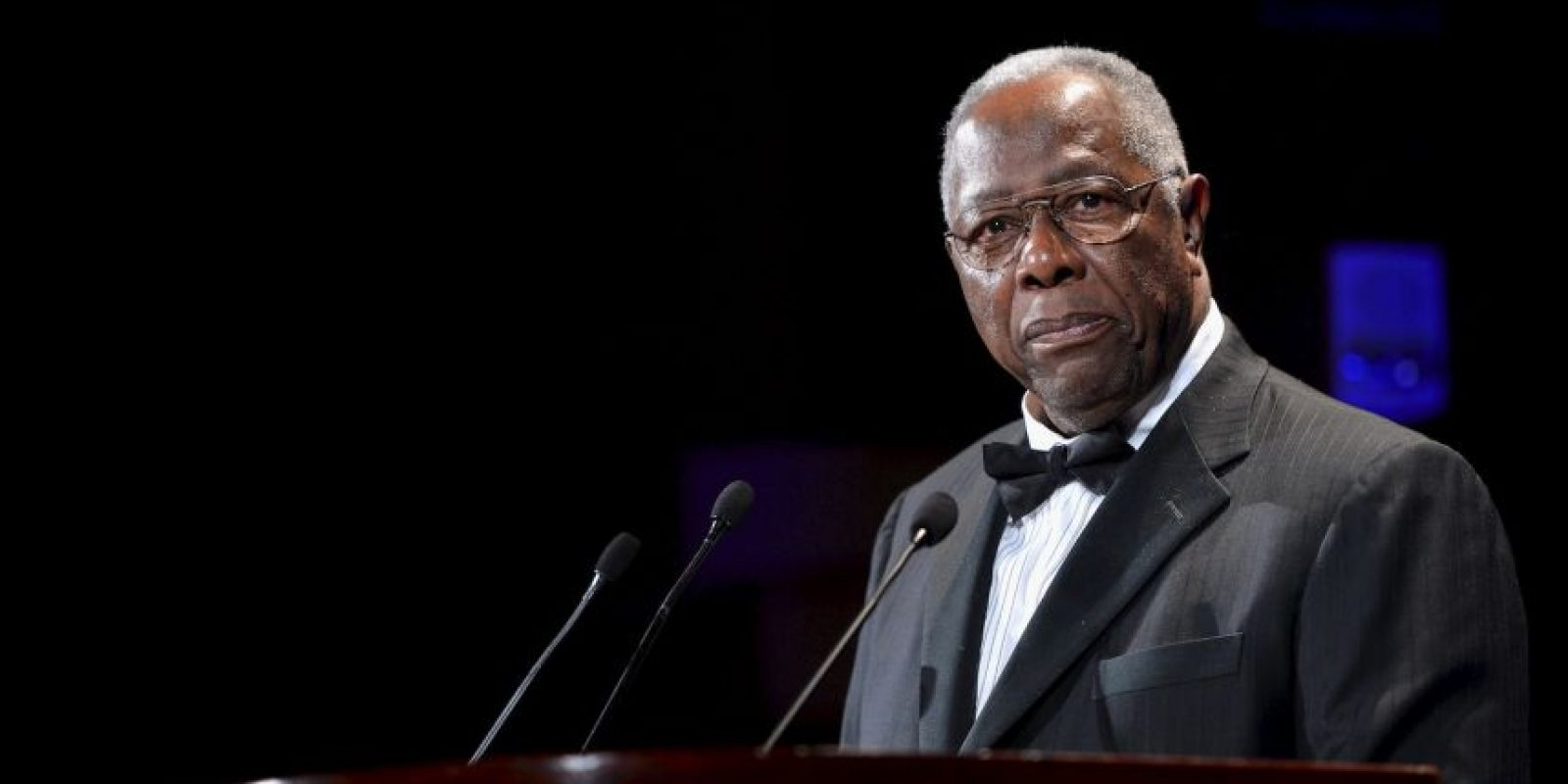 Hank Aaron, exbeisbolista Foto: Getty Images