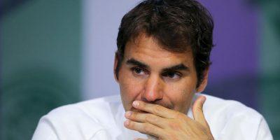 Roger Federer sale del top ten por primera vez en 14 años Foto:Getty Images