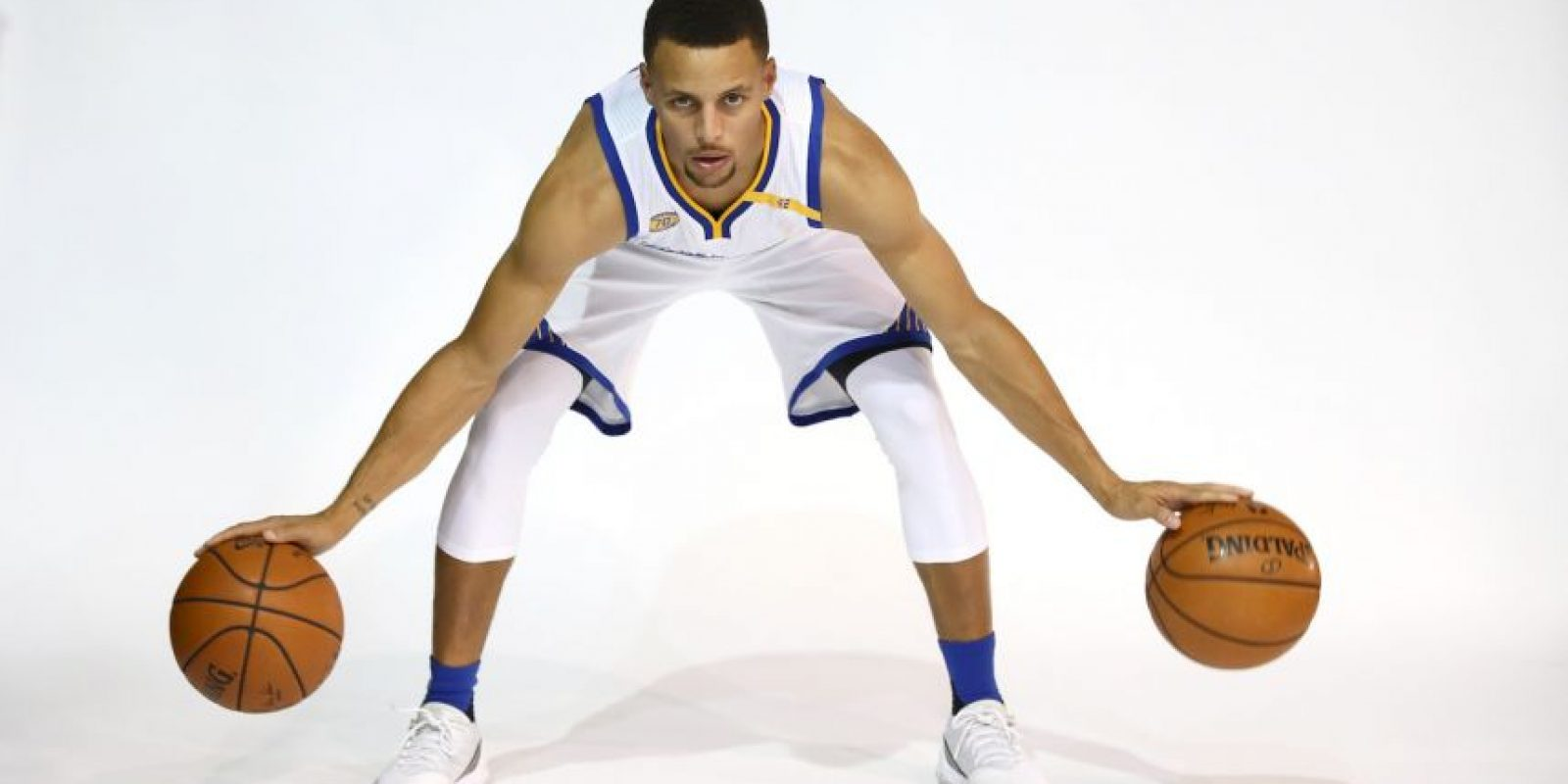 Curry es el jugador que más triples ha marcado en una temporada: 402 Foto:Getty Images