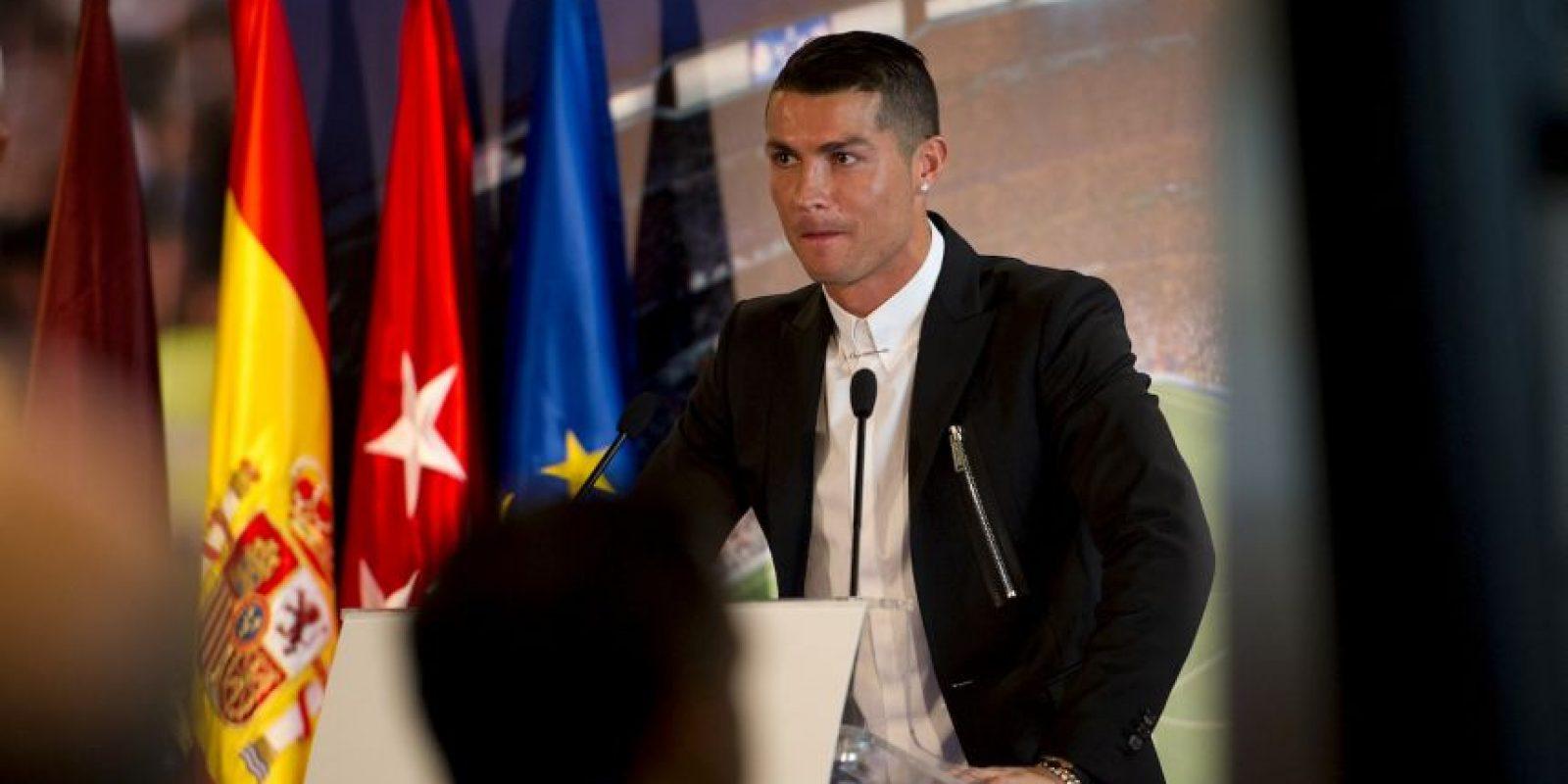 Cristiano Ronaldo ganará 23.6 millones de euros por temporada Foto:Getty Images