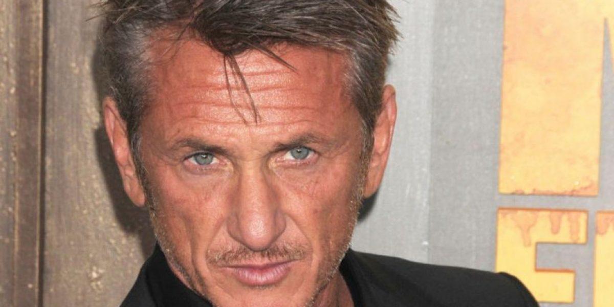 ¿Eres tú Sean Penn? El actor ahora luce irreconocible