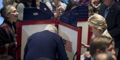 Votó Hillary Clinton Foto:AFP