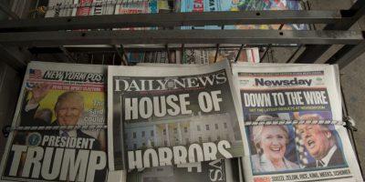 """Las fotos que marcaron el """"Día después"""" Foto:AFP"""