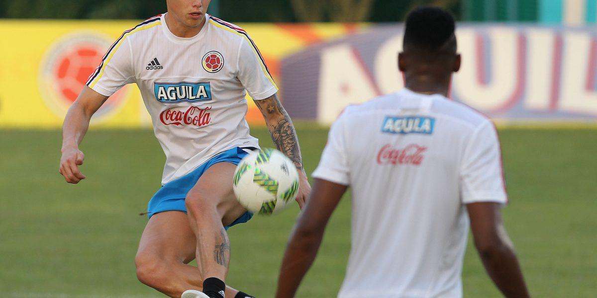James Rodríguez no es popular en la afición de Real Madrid para jugar