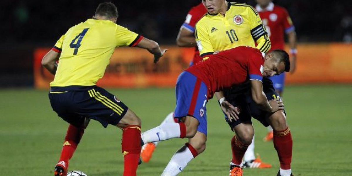 Rusia 2018: Colombia VS Chile, un duelo parejo en eliminatorias