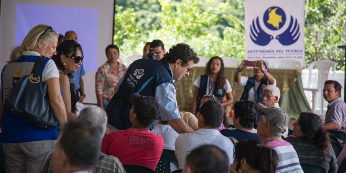 """""""Municipios en Colombia necesitan que se defina el proceso de paz"""": Defensor del Pueblo"""