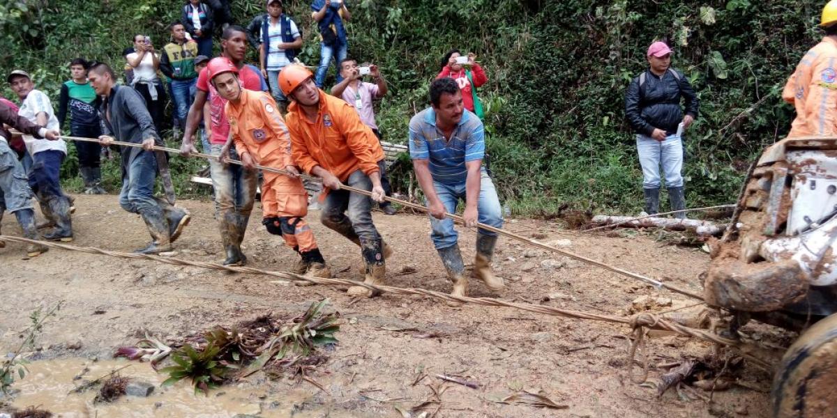 En deslizamiento del Cauca fallecieron nueve personas