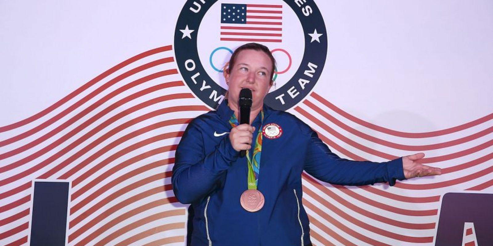 La tiradora olímpica Kim Rhode Foto:Getty Images