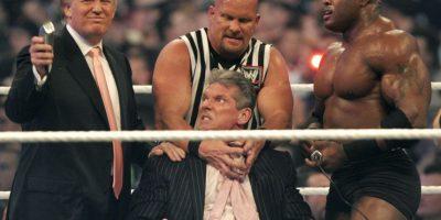 Los mejores momentos de Donald Trump en WWE Foto:Getty Images