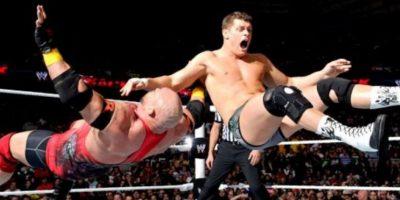Antes peleó con el nombre de Cody Rhodes Foto:WWE