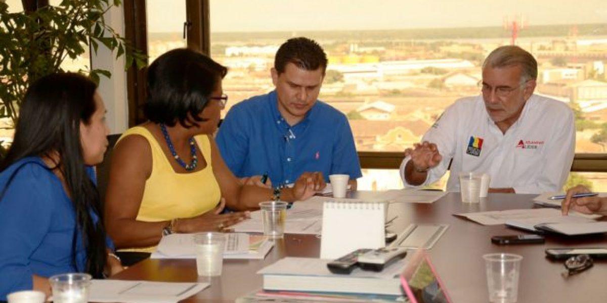 Se fue la luz en reunión de gerente de Electricaribe y gobernador del Atlántico