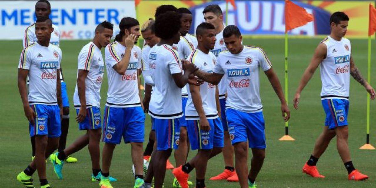 La selección Colombia ya está completa y piensa en Chile