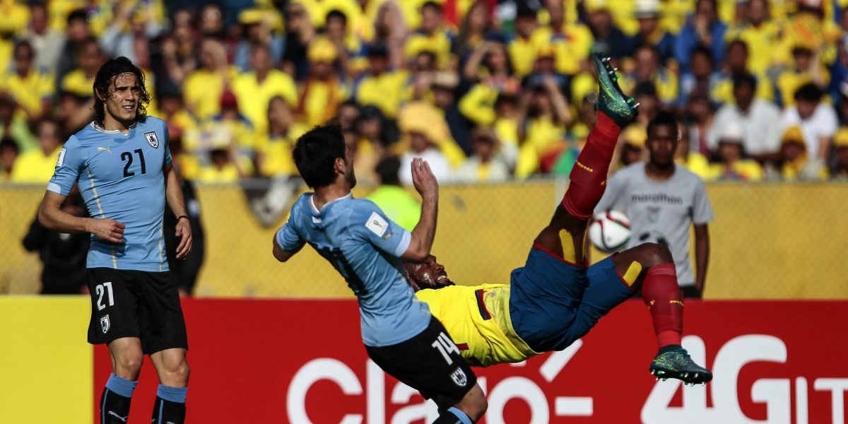 Uruguay vs Ecuador, duelo con emoción en eliminatorias