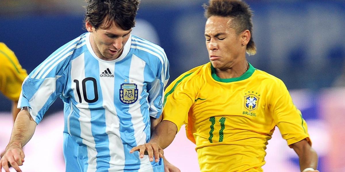 Clásico mundial entre Brasil y Argentina con muchos en juego