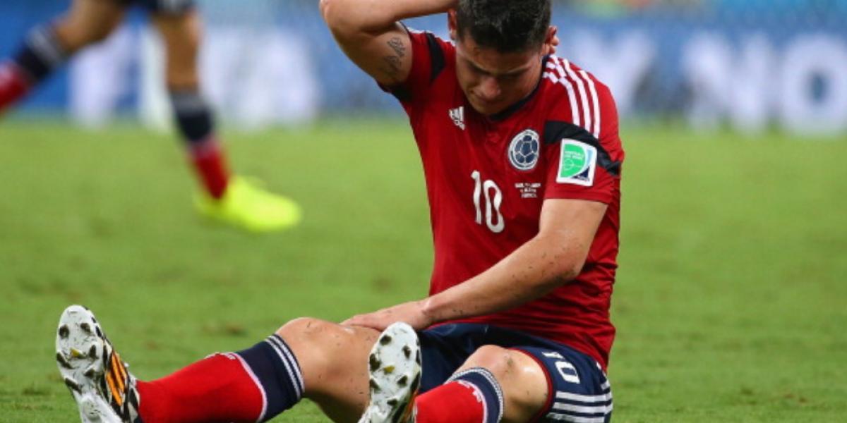 La prensa del continente también ataca a James Rodríguez