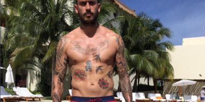 Mauricio Pinilla: El delantero chileno es otro de los futbolistas que gusta de los tatuajes. Foto:Instagram Mauricio Pinilla