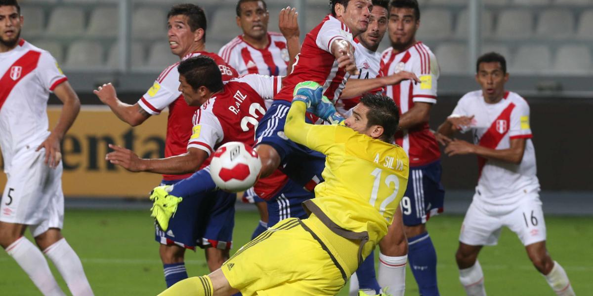 Paraguay VS Perú, por meterse en la pelea en eliminatorias