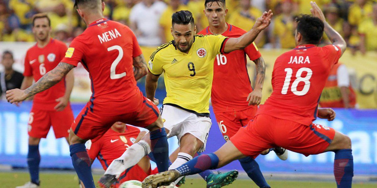 Colombia 0-0 Chile: Un empate que no suma,