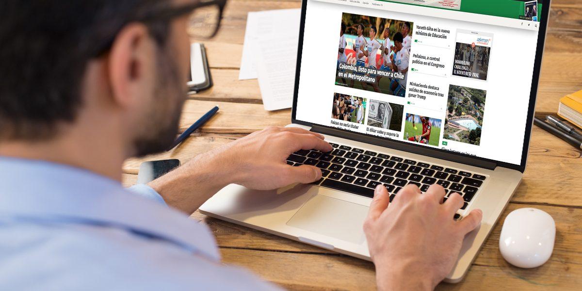 Publimetro, en el top 10 de portales más leídos en Colombia, según ComScore