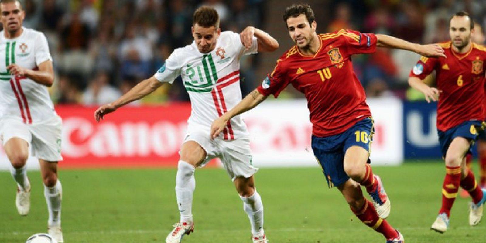 Portugal vs. España. Una rivalidad que ha aumentado en los últimos años. Foto:Getty Images