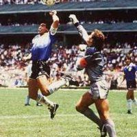 """Argentina vs. Inglaterra. Problemas históricos y la """"Mano de Dios"""" hacen un partido más que interesante Foto:Getty Images"""