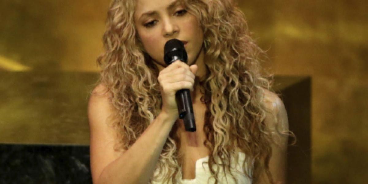 Shakira: número uno en Billboard con