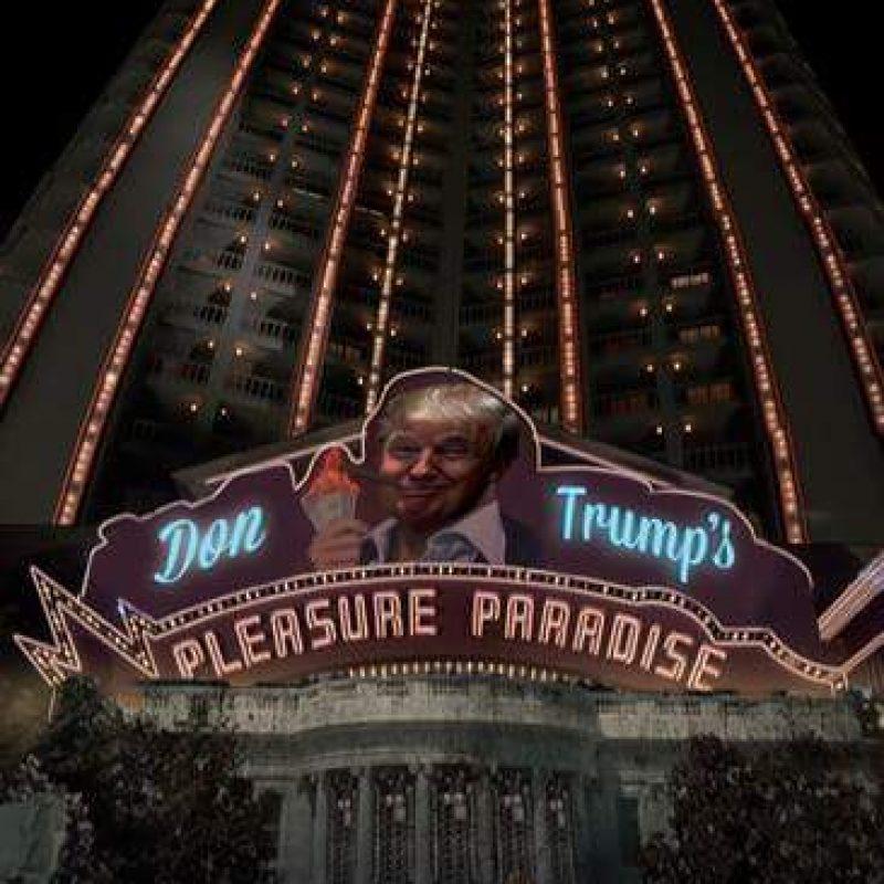 ¿Cómo se verá la Casa Blanca con el Presidente Trump?. Imagen Por: Imgur / Reddit