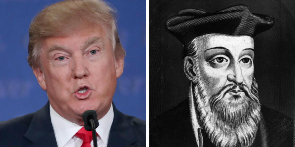 Nostradamus profetizó la victoria de Donald Trump