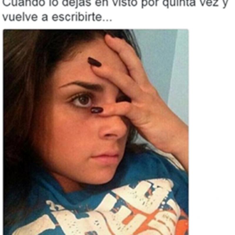 WhatsApp: Memes que nos recuerdan el dolor de que nos dejen en visto. Imagen Por: Facebook