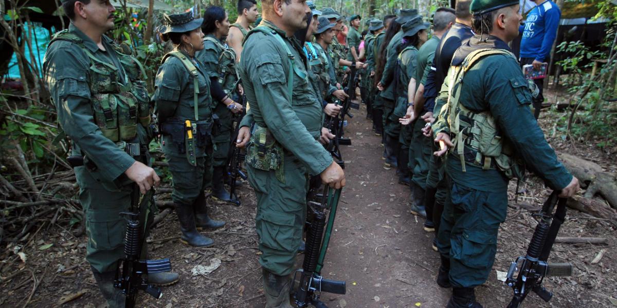 Las Farc separan a cinco de sus mandos que estaban en disidencia