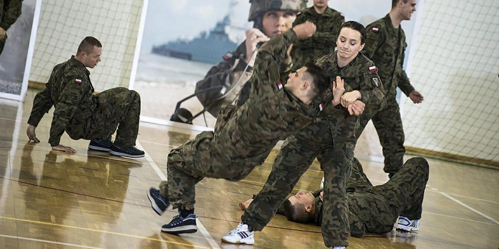 Ejército dará clases de defensa personal a mujeres por casos de violación. Imagen Por: Ministerio de Defensa de Polonia