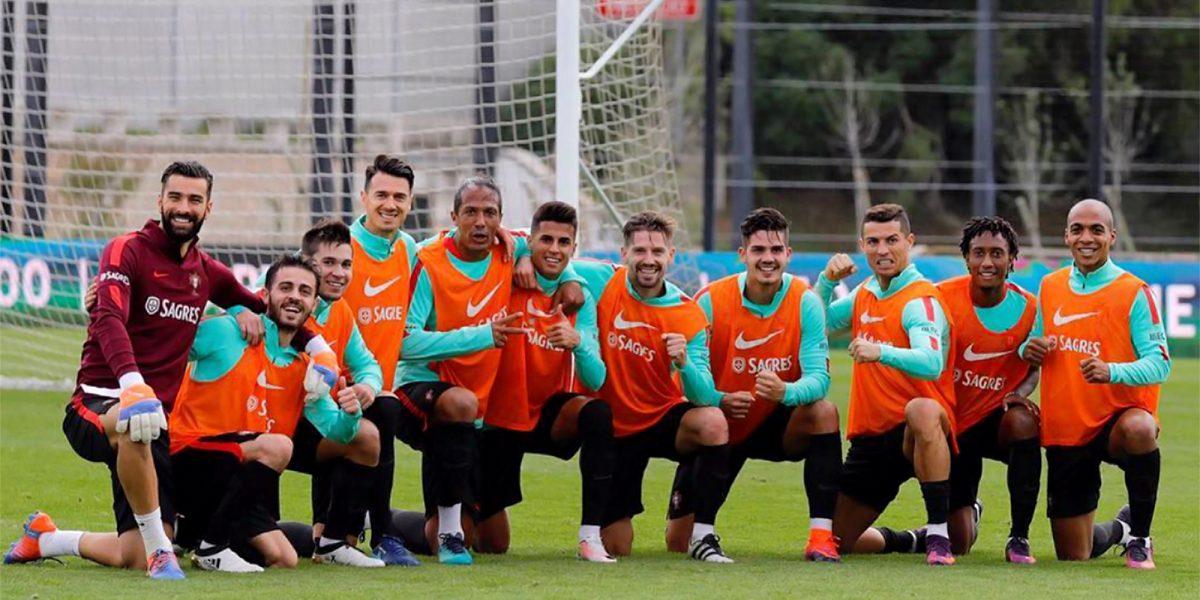 """Cristiano Ronaldo y la selección de Portugal se unen al """"mannequin challenge"""""""